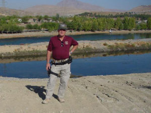 Clint Thompson in Dokhan Kurdishstan