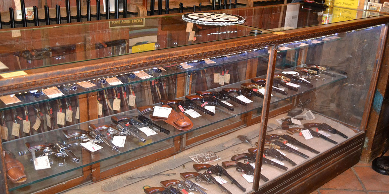 Cimarron Firearms at Texas Jacks, Gun Store, Western Clothing