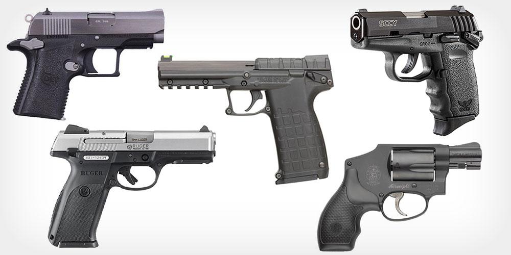 Five Best USA Made Handguns Under $500
