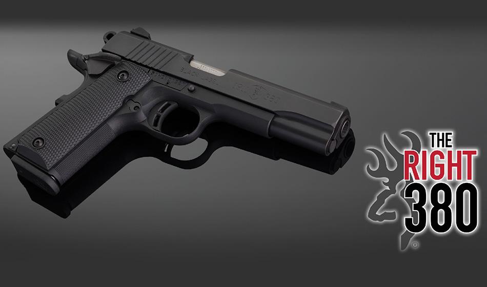 Browning 1911 .380 A Fun But Serious Firearm
