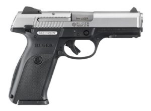 "Ruger's SR-Series ""9E"", 9mm Luger Pistol Blue"