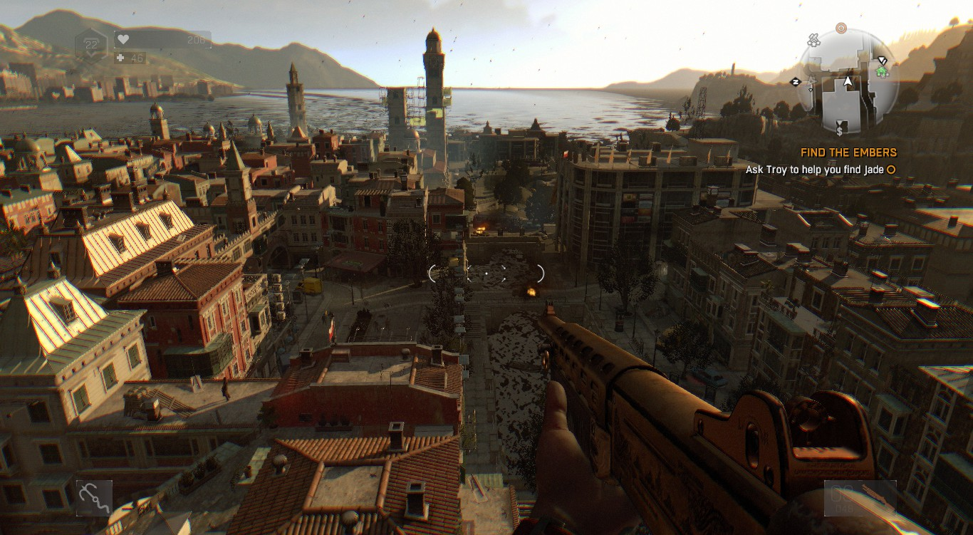 Dying Light: Old Town Map