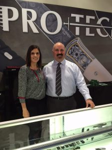 Dave at Pro-Tech and Taya Kyle