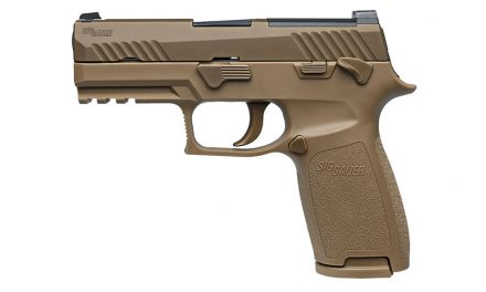 Sig Sauer P320 (M17) Chosen By United States Department of Defense