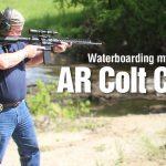 Waterboarding my AR Colt Combat Unit Carbine