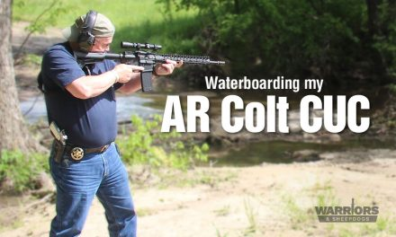 Waterboarding my AR Colt Combat Unit Carbine