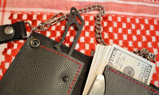 CUMA Survival Biker Wallet – World's Best Survival Wallet