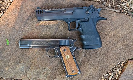 Desert Eagle Black L5, the Better Lion and Bear Country Handgun