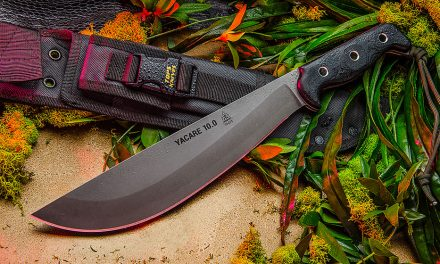 TOPS Yacare 10.0, One of the Top Five Utilitarian Machetes in the World