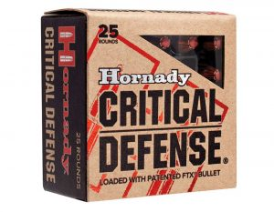 Hornady 45 Auto 185 gr FTX® Critical Defense®