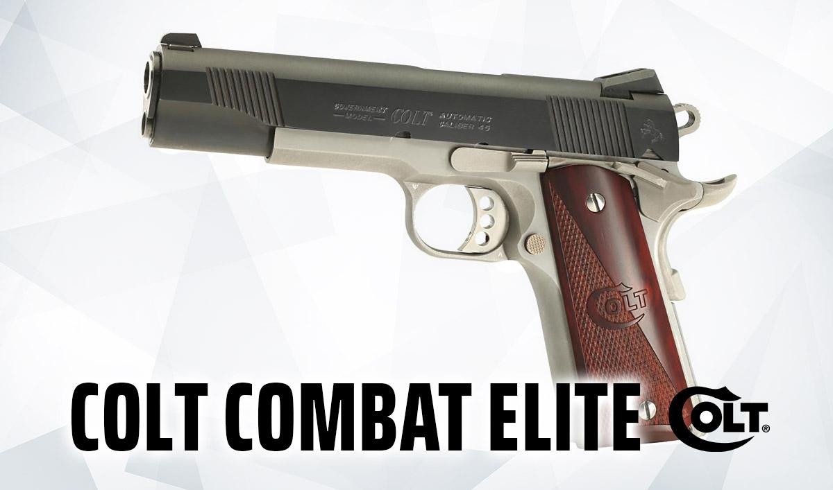 Best 1911 .45 ACP, Classic Colt Combat Elite Pistol