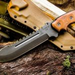 The Best Survival Knife: TOPS Steel Eagle 107C Delta Class