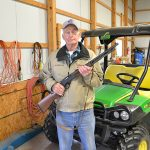 Mike with Henry lever action 410