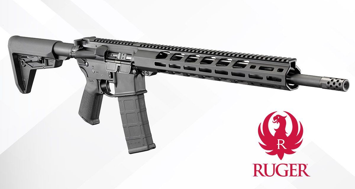 Ruger AR-556 MPR: A Top AR Semi-Auto