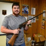 Murray State College gunsmithing student