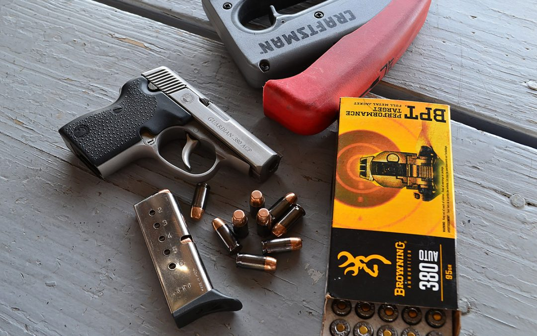 The North American Arms .380 Guardian, the Best Manly Pocket Pistol