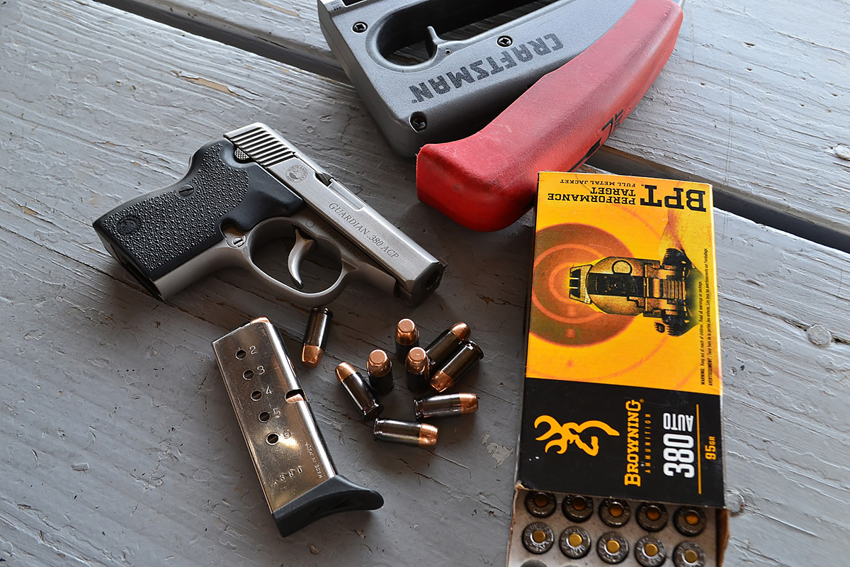 The North American Arms  380 Guardian, the Best Manly Pocket