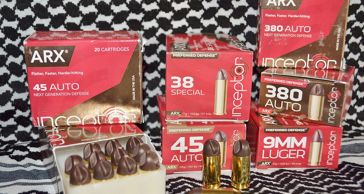 Inceptor New Age Ammunition Best for CCW Defense