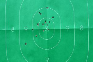 NAA Sidewinder shot pattern