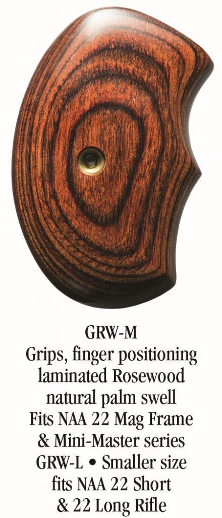NAA Sidewinder rosewood grips