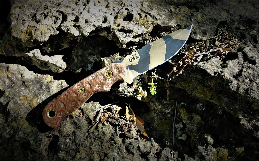 TOPS TEX Creek 69 Fixed Blade Knife