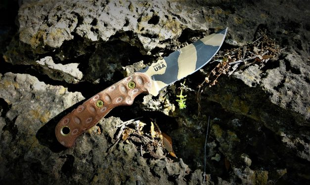 TOPS TEX Creek 69 Fixed Blade Knife