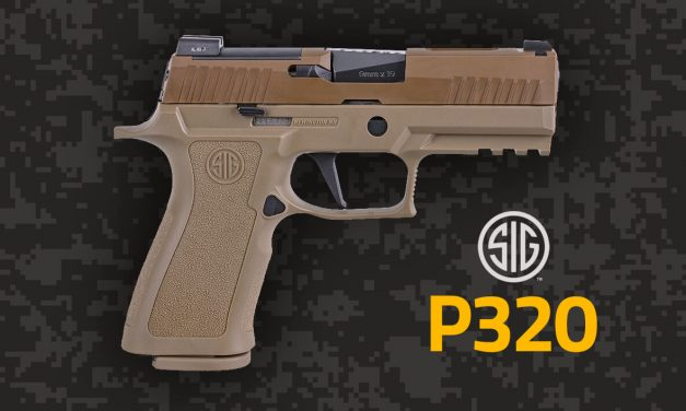 Sig Sauer's P320 X-Carry Coyote: One Hell of a Weapon