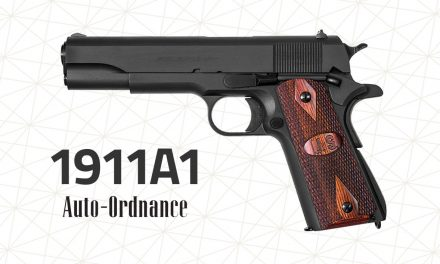 Auto Ordnance 1911A1 Has the WWII Replica Pistols
