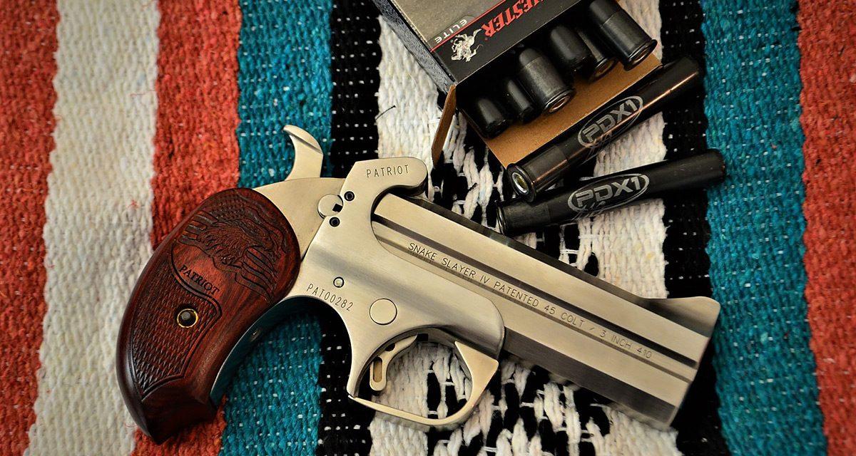 Bond Arms Snake Slayer IV 4.25″ Barrel: Deadliest Two Shot Pistol