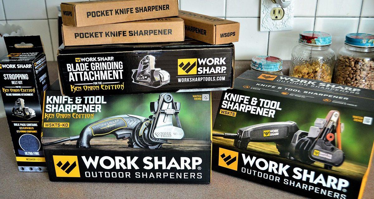 Best Knife Sharpener: Work Sharp