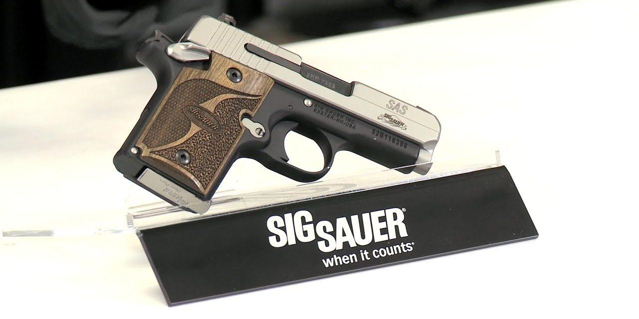 Best Micro 9mm: Sig Sauer P938 SAS