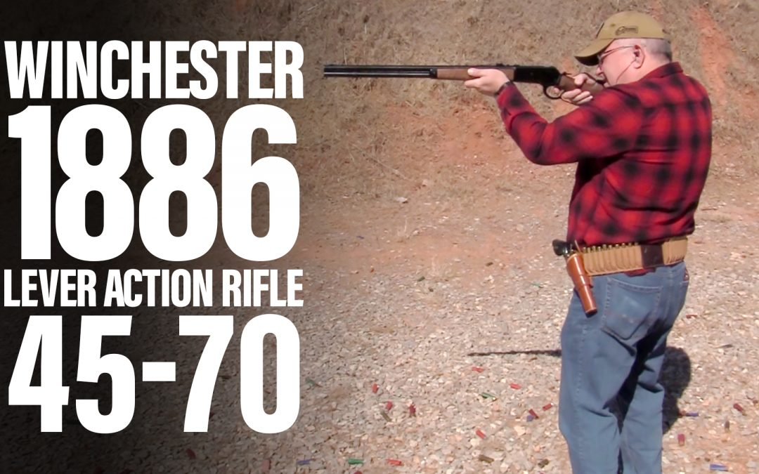 Historical Winchester 1886 Lever Action Chambered in 45-70 Rides Again