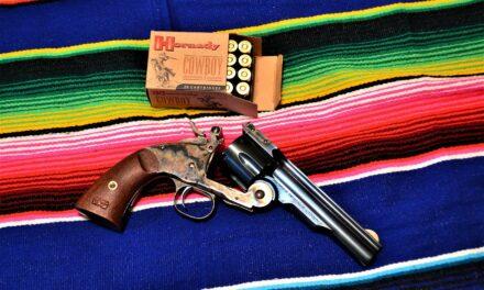 The Schofield Top-Break Revolver is Taylor's & Company's Passport to 1875