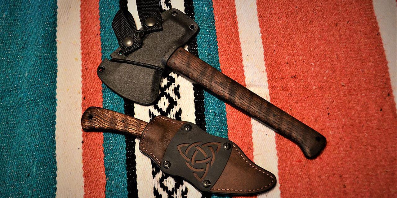 The Winkler Knives' Highland Hatchet and Highland Hunter